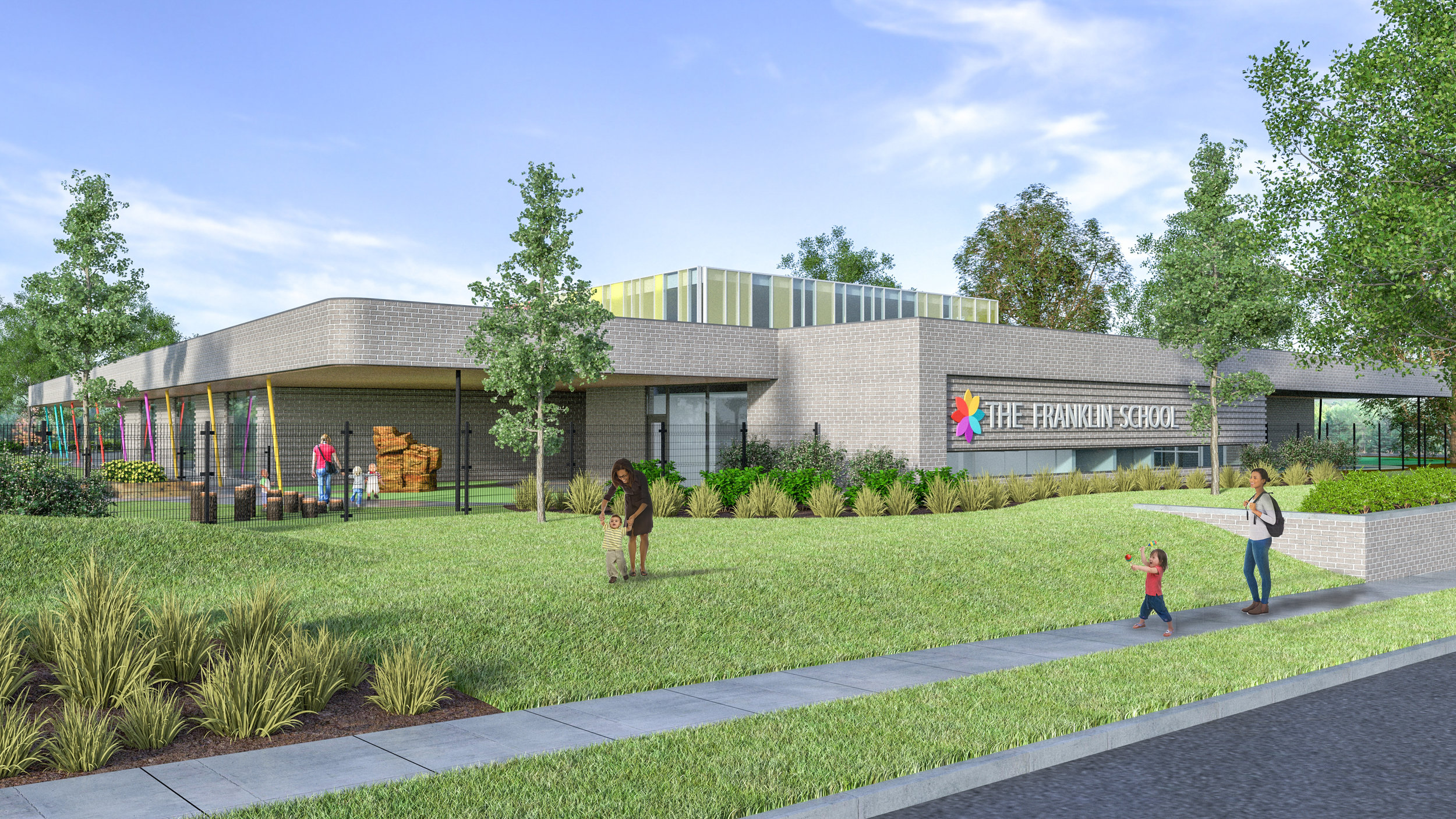 Groups unveil The Franklin School for city's Northside